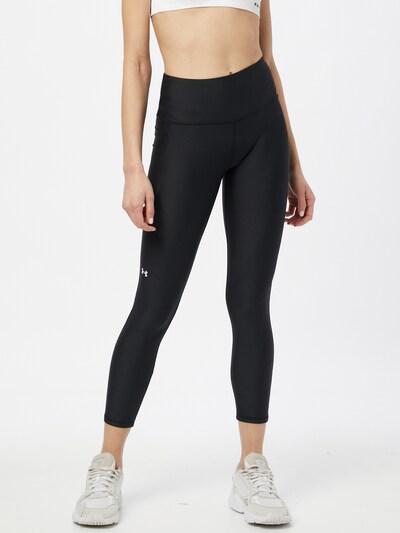 UNDER ARMOUR Sporthose in schwarz / weiß, Modelansicht