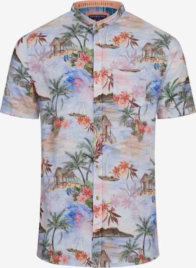 COLOURS & SONS Kurzarmhemd 'Nathan' in mischfarben, Produktansicht