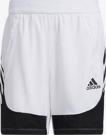 ADIDAS PERFORMANCE Sportsbukser i hvit