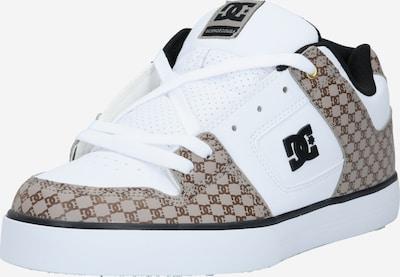 DC Shoes Sportovní boty - světle hnědá / černá / bílá, Produkt