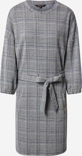Herrlicher Kleid 'Taja' in grau / schwarz / weiß, Produktansicht