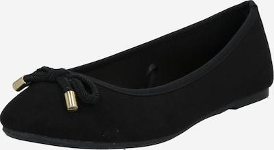 Dorothy Perkins Baleríny 'Peach Bow' - černá, Produkt