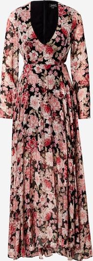 Bardot Robe en mélange de couleurs, Vue avec produit
