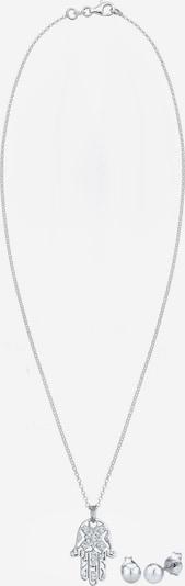 ELLI Schmuckset 'Hamsa Hand' in silber, Produktansicht