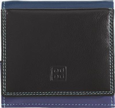 DuDu Portemonnee in de kleur Blauw / Duifblauw / Donkerbruin / Gemengde kleuren, Productweergave