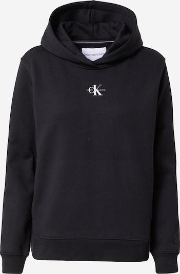 Calvin Klein Jeans Mikina - šedá / černá / bílá, Produkt
