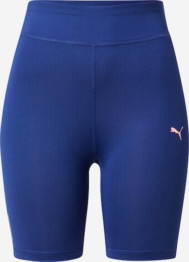 PUMA Pantalon de sport en bleu marine / rose, Vue avec produit