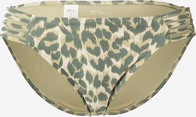 AERIE Bikinihose in beige / grün / hellgrün, Produktansicht