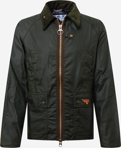 Barbour Beacon Jacke in dunkelgrün, Produktansicht