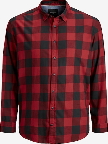 Jack & Jones Plus Hemd in Rot