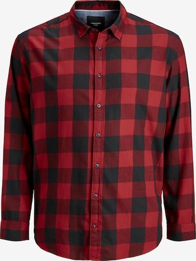 Jack & Jones Plus Koszula w kolorze krwistoczerwony / czarnym, Podgląd produktu