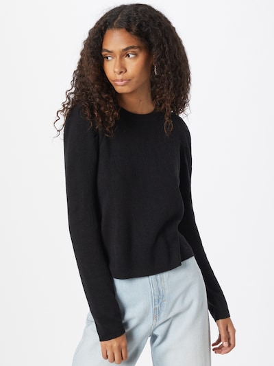 JDY Pullover 'TYGA' in schwarz, Modelansicht