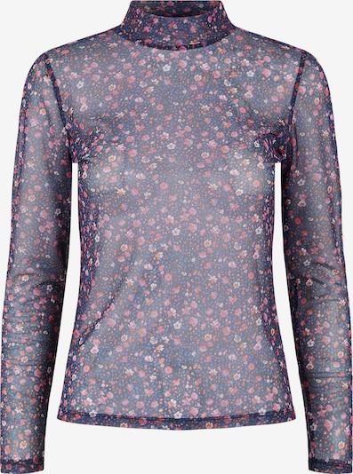 PIECES Shirt 'Elyse' in nachtblau / mischfarben, Produktansicht
