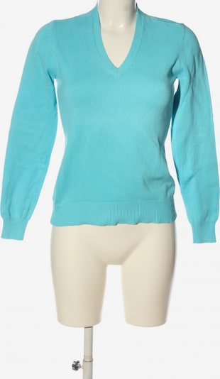 ESISTO V-Ausschnitt-Pullover in XS in türkis, Produktansicht