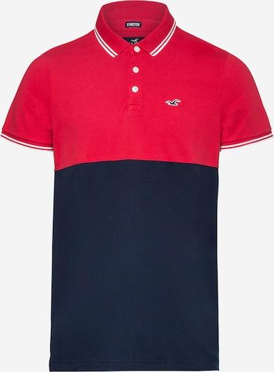 HOLLISTER T-Shirt en bleu / rouge chiné / blanc, Vue avec produit