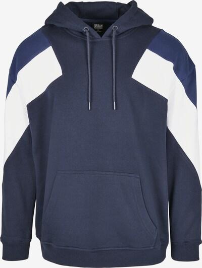 Urban Classics Mikina - námornícka modrá / tmavomodrá / biela, Produkt