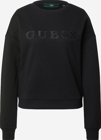GUESS Sweat-shirt en noir, Vue avec produit