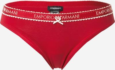 Slip 'HOLIDAYS' Emporio Armani di colore rosso / bianco, Visualizzazione prodotti