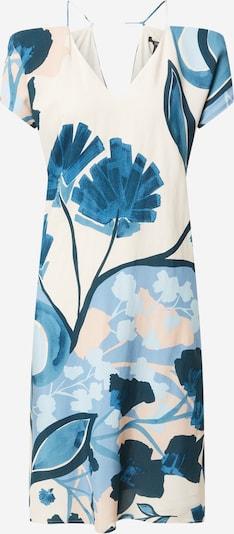 Esprit Collection Robe en crème / bleu / bleu marine / bleu fumé / bleu clair, Vue avec produit