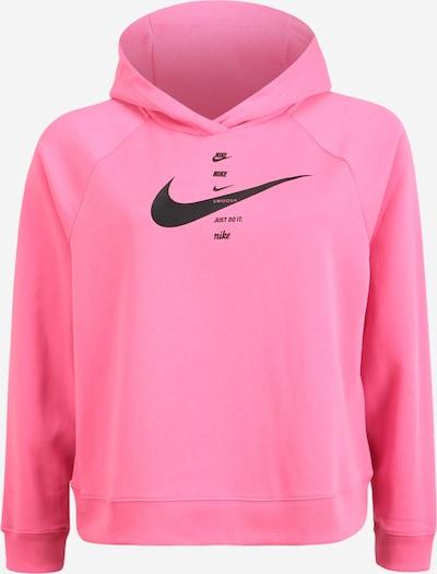 Nike Sportswear Sweat-shirt en rose / noir, Vue avec produit