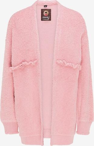 taddy Strickjacke in Pink