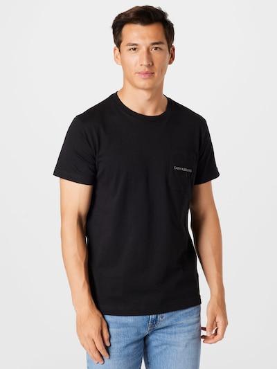 Calvin Klein Jeans Shirt in schwarz, Modelansicht