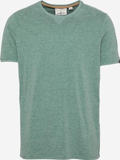 Fli Papigu T-Shirt 'YU still Brothers' in grünmeliert, Produktansicht