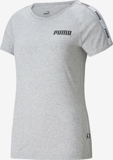 PUMA Shirt in de kleur Grijs / Zwart, Productweergave