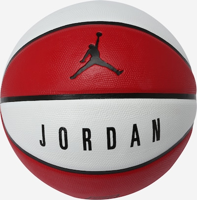 NIKE Accessoires Lopta 'Jordan' - červená / čierna / biela, Produkt
