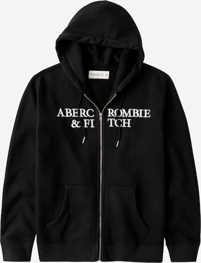 Abercrombie & Fitch Sweatjacke in schwarz, Produktansicht