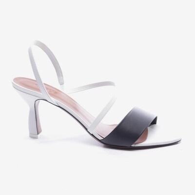 NEOUS Sandaletten in 40 in schwarz / weiß, Produktansicht