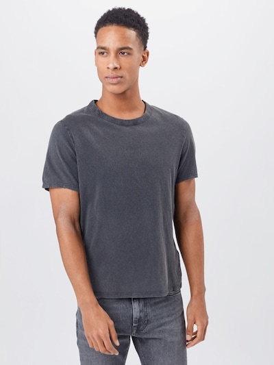 AMERICAN VINTAGE Shirt 'Fakobay' in anthracite: Frontal view