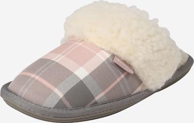 Barbour Hausschuh 'Lydia' in beige / grau / rosa, Produktansicht