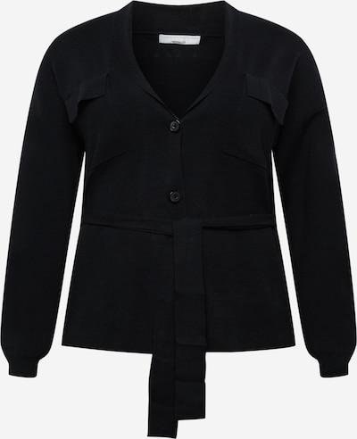 Guido Maria Kretschmer Curvy Collection Strickjacke 'Meline' in schwarz, Produktansicht