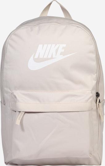 Rucsac 'Heritage 2.0' Nike Sportswear pe maro deschis / alb, Vizualizare produs