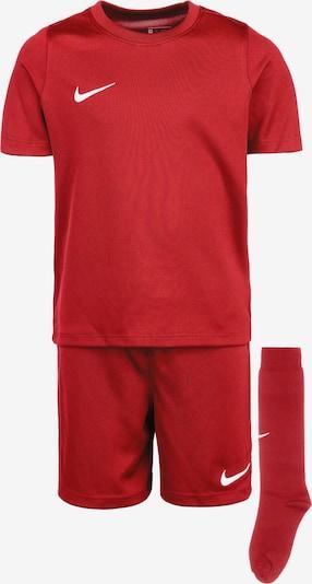 NIKE Trainingsanzug 'Park 20' in rot / weiß, Produktansicht