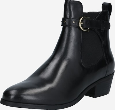 Steven New York Chelsea Boots en noir, Vue avec produit