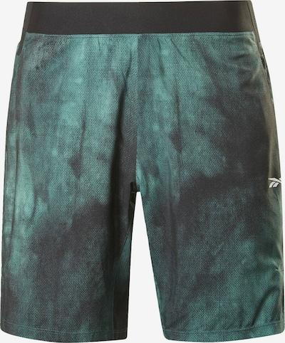 Reebok Sport Sporthose 'Epic Lightweight' in grün / schwarz, Produktansicht
