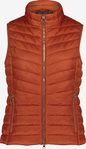 Betty Barclay Vest in Orange