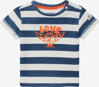 Tricou 'Taormina' Noppies pe bleumarin / portocaliu / alb, Vizualizare produs