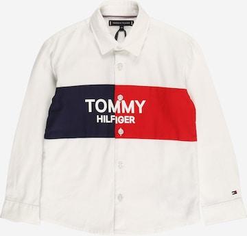 TOMMY HILFIGER Triiksärk, värv valge