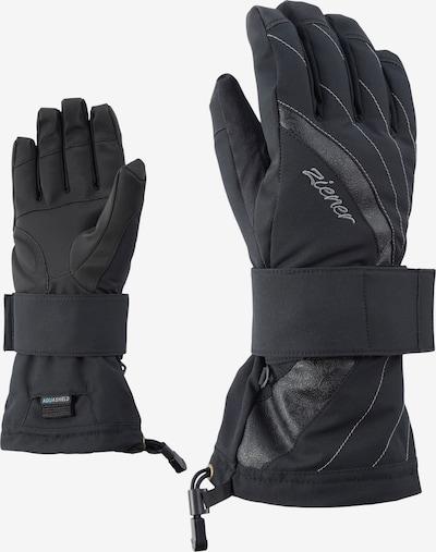 ZIENER Snowboardhandschuhe 'MILANA AS(R)' in schwarz, Produktansicht
