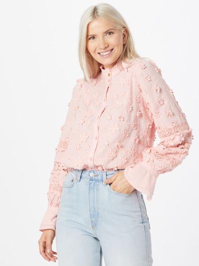 Fabienne Chapot Bluse 'Leo' i pink, Modelvisning