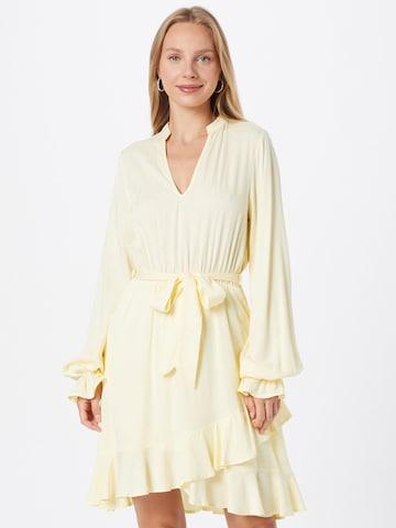 NU-IN Shirt Dress in Yellow