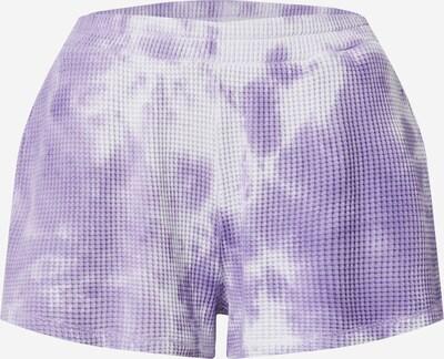 AMERICAN VINTAGE Pantalon 'Bowilove' en lilas / blanc, Vue avec produit