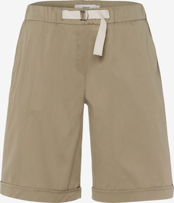 BRAX Shorts 'Mel B' in Grün