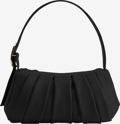 MANGO Schoudertas 'Nastri' in de kleur Zwart, Productweergave