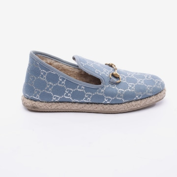 Gucci Flats & Loafers in 40 in Blue