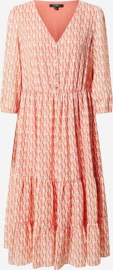COMMA Shirt Dress in Light beige / Coral / Peach / White, Item view