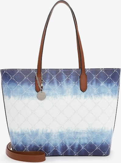 TAMARIS Torba shopper 'Anastasia' w kolorze opal / ciemny niebieski / białym, Podgląd produktu